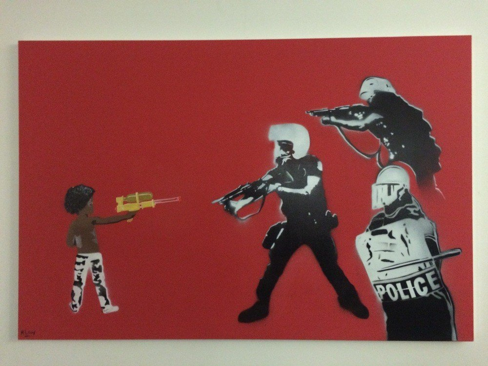 """""""Don't Shoot"""" By Mike L'Roy"""