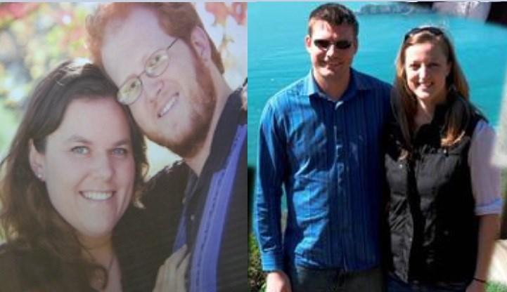 Two Madison area DINK couples; Shannon Tervo & Jason Weiss (L), Austen & Laura Portz (R)