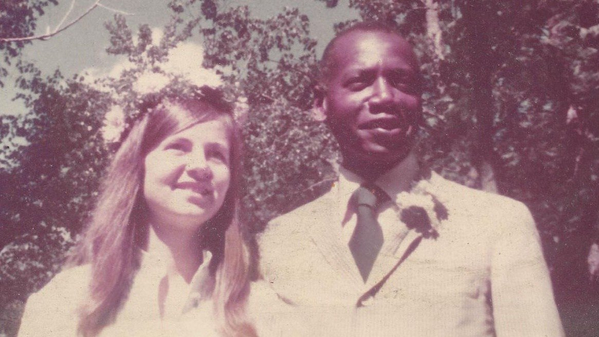 Betsy and Vernon at their wedding in 1978.