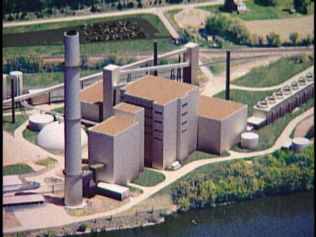 Image of proposed coal plant
