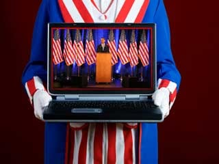 The Internet played a critical role in the 2008 election campaign. (©istockphoto.com/Sean Locke)