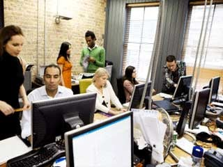 Small-business owners use creative tactics to retain employees. (©istockphoto.com/Chris Scmidt)