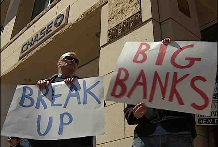 Break up the big banks