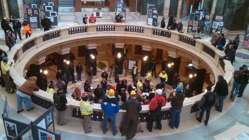 Union leaders optimistic right to work unconstitutional for Community motors mason city