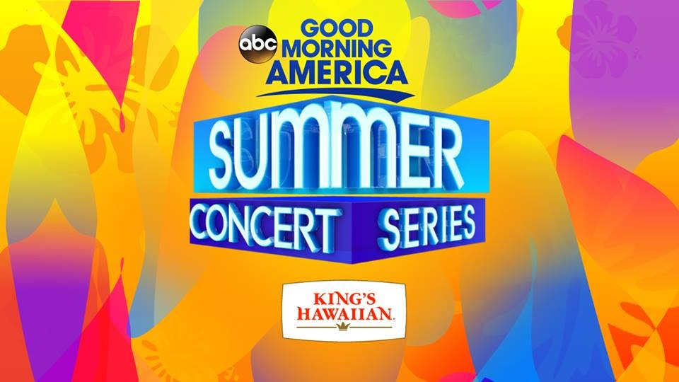 Good Morning America Live Tickets : Good morning america s summer concert series lineup