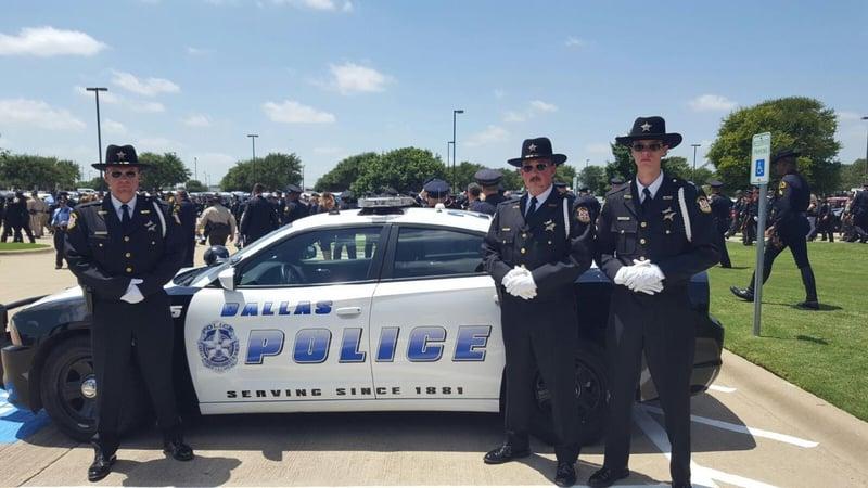 Rock county sheriff 39 s honor guard in dallas for fallen for Sport city motors dallas
