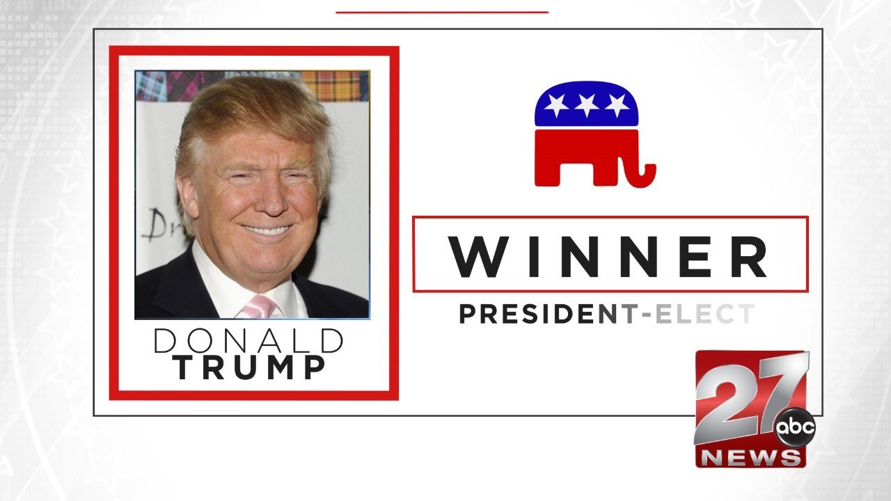 the absurdity of the newly elected president of the united states donald trump Donald trump stuns the world, elected sweeping to victory as the 45th president of the united states president-elect donald trump greets new.
