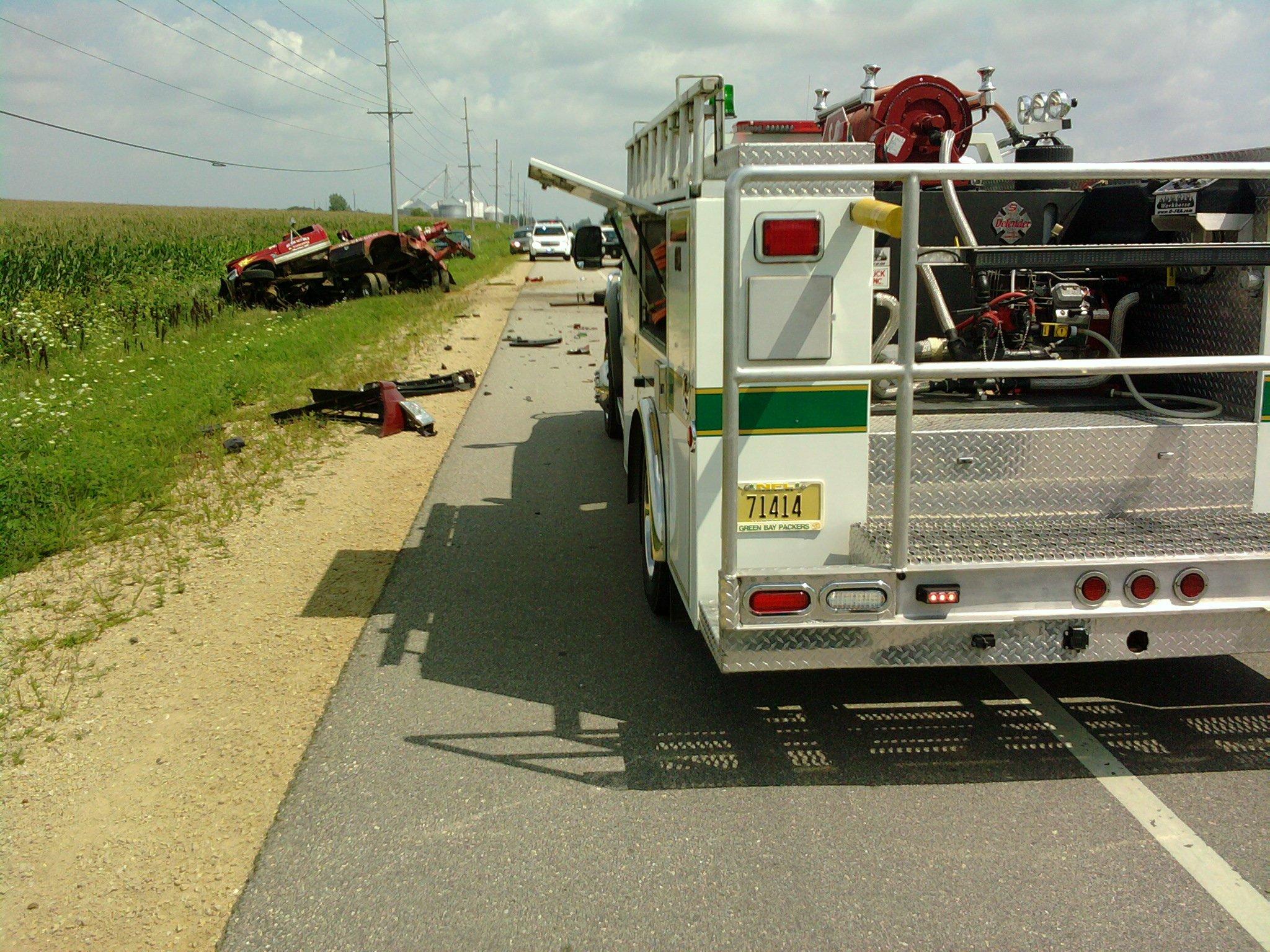 Toys For Trucks Menasha : One person killed in iowa county crash wkow madison