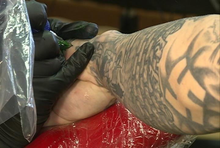Only on 27 news platteville tattoo shop removing hateful for Tattoo shops sioux falls sd