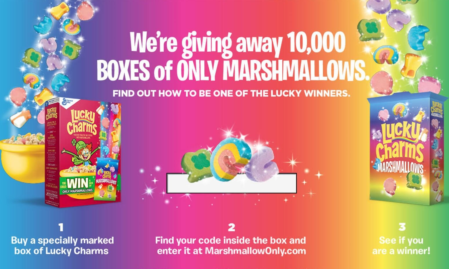 lucky charms brings back their quot marshmallow only quot contest