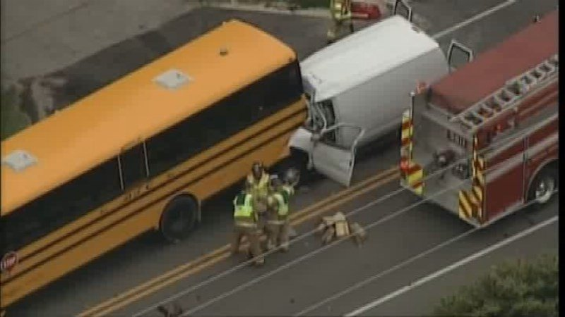 2 school bus crashes have killed 2 drivers, injured students