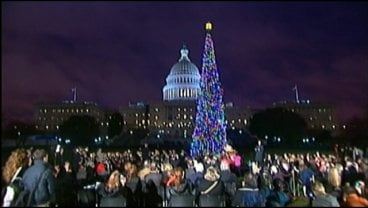 U S Capitol Christmas Tree Lit WKOW 27 Madison WI Breaking News Weather