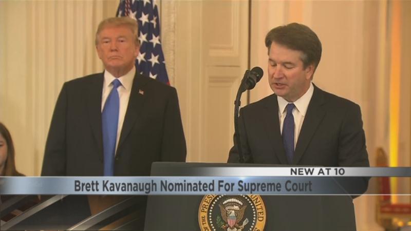 Brett Kavanaugh Nominated For Supreme Court