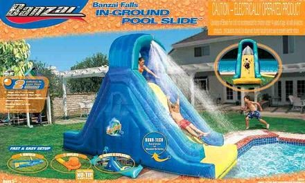 recall banzai inflatable pool slide