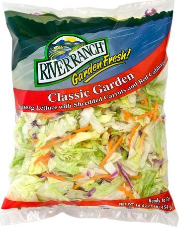 Recall Bagged Lettuce