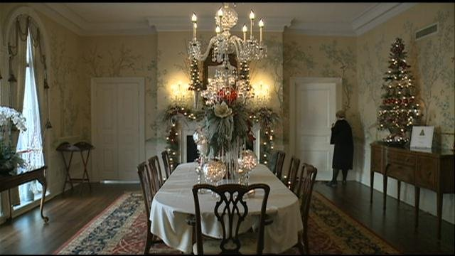Governor 39 S Mansion Holiday Tours Wkow 27 Madison Wi