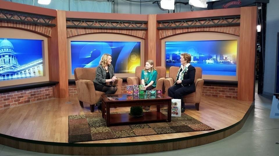 local girl scouts start selling girl scout cookies   wkow