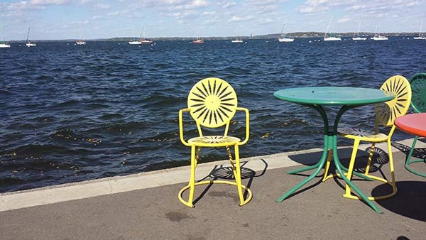 Sixteen memorial union terrace chairs stolen wqow tv for Terrace uw madison