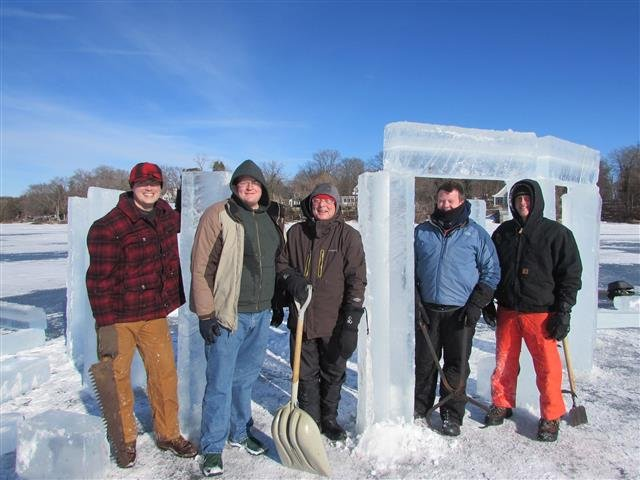 Rock Lake Icehenge