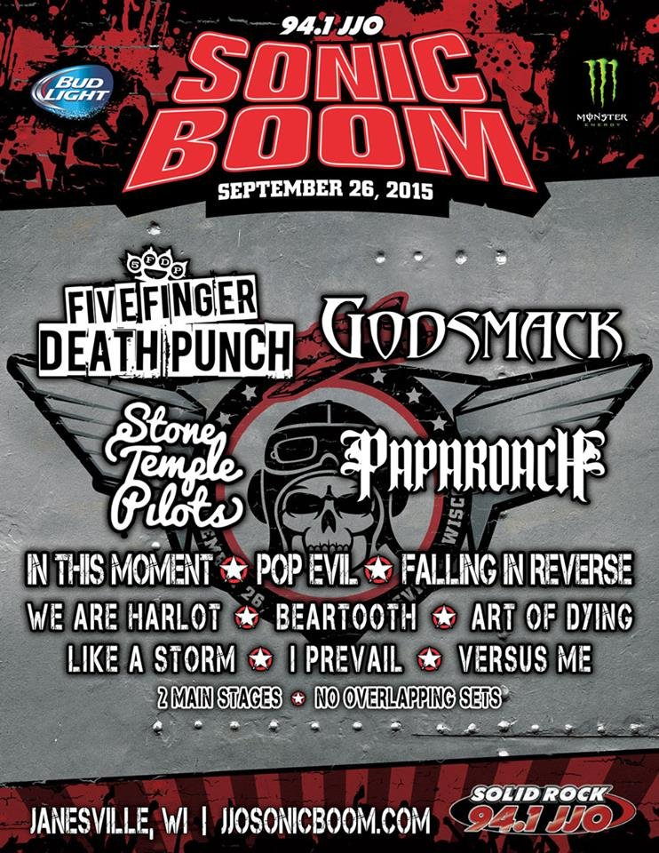 Everything you need to know for SONiC Boom 2015 - SONiC 102.9
