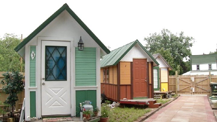 Tiny house village expanding in Madison WKOW 27 Madison WI