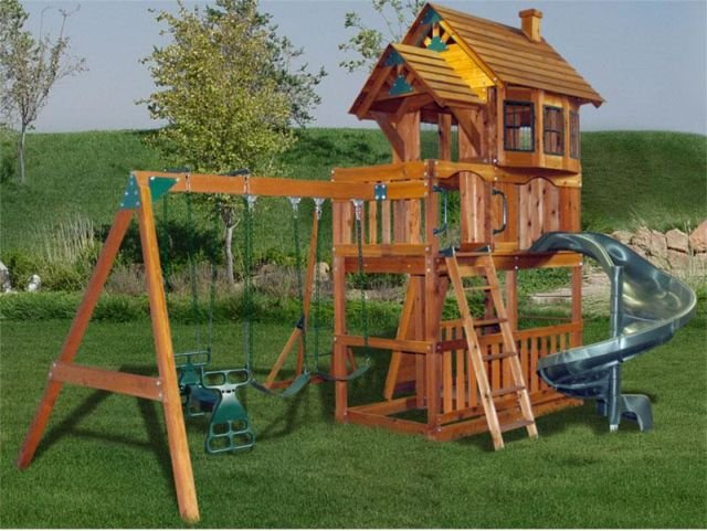Nice Backyard Playground Sets Part - 12: Windsor 1