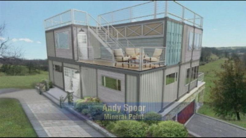 Fox valley company turning shipping containers into homes wkow 27 madison wi breaking news - Turning shipping containers into homes ...