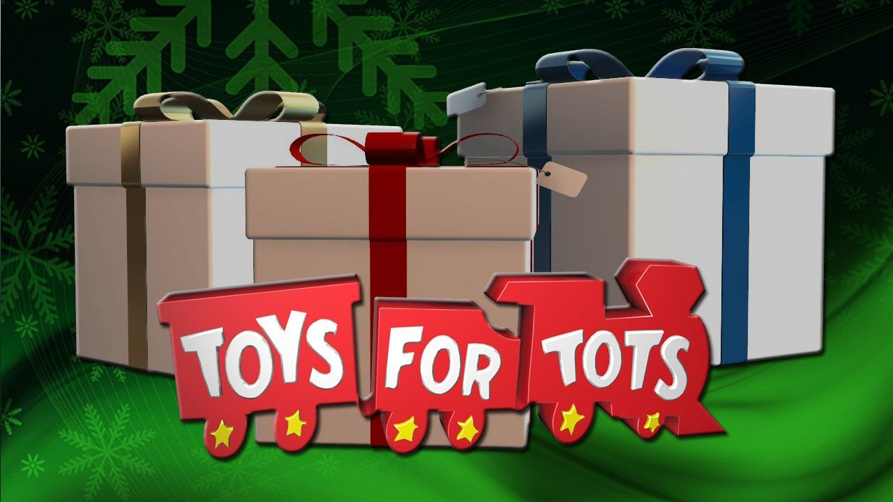 Toys For Tots Pickup : Marines pick up toys for tots campaign kwwl