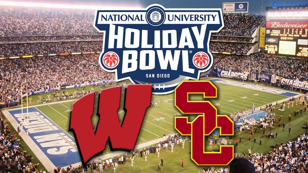 team meetings and even studying videotape of their opponent the usc trojans wisconsin fans are making the most of their holiday bowl