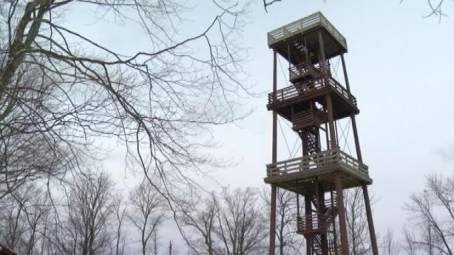 Public push to save park tower in door county kwwl for Fish creek wi weather