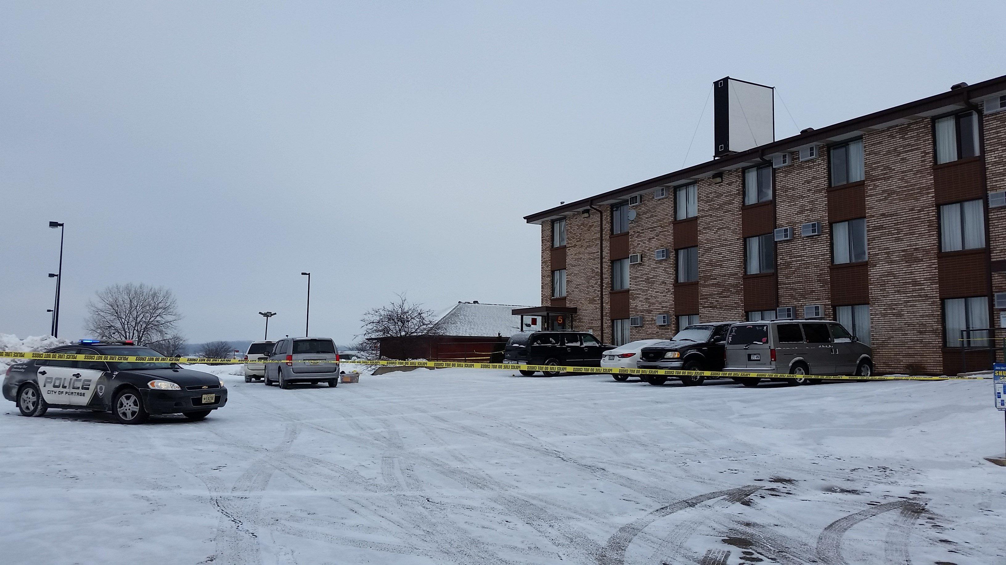 Update suspect victim identified in portage homicide for Ridge motor inn portage wi