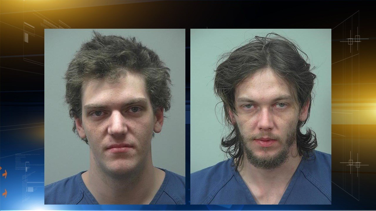 brothers accused of stealing receipts outside of walmart
