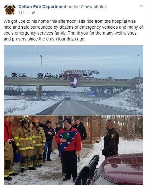 Courtesy: Delton Fire Department/Facebook