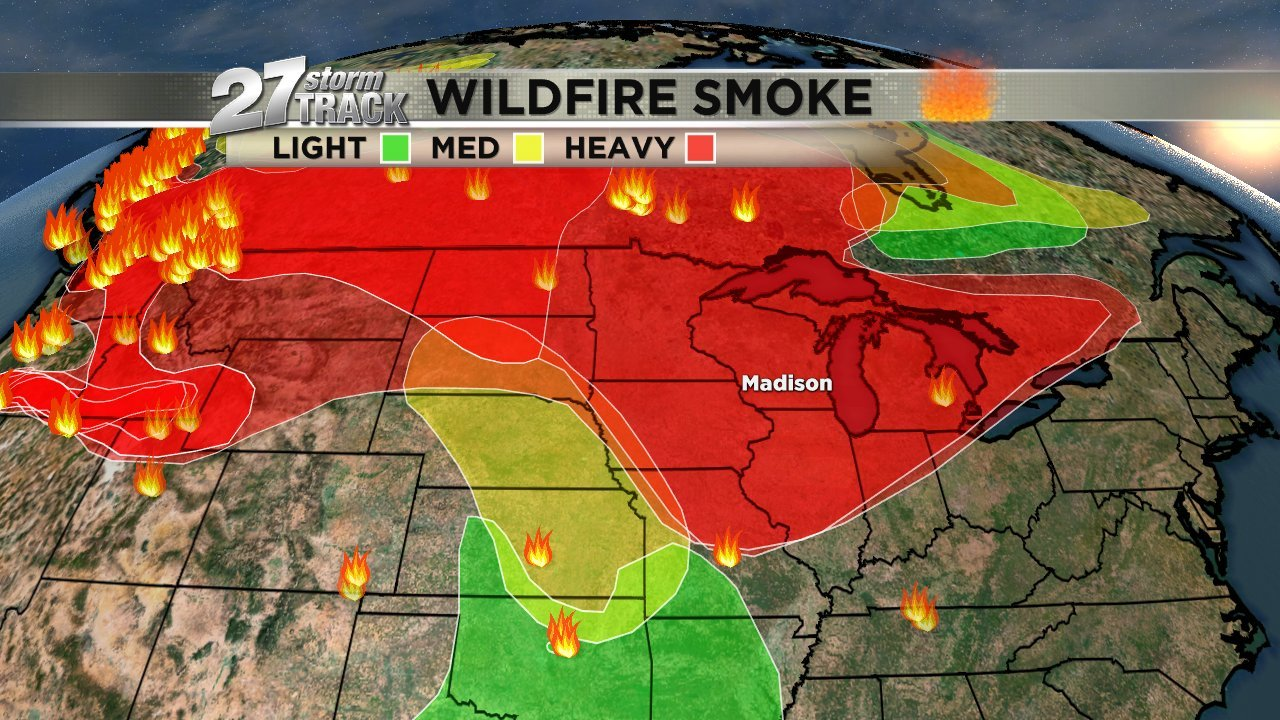 Wildfire smoke analysis via NOAA